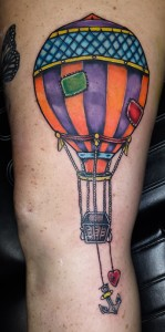 air balloon navigation
