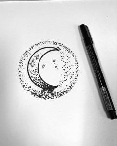 crescent moon design