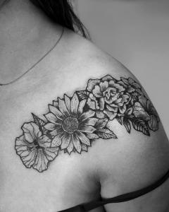 Flower Design Coverup
