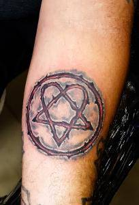 Heartagram him