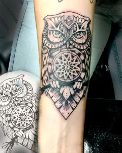Owl Tattoo Design